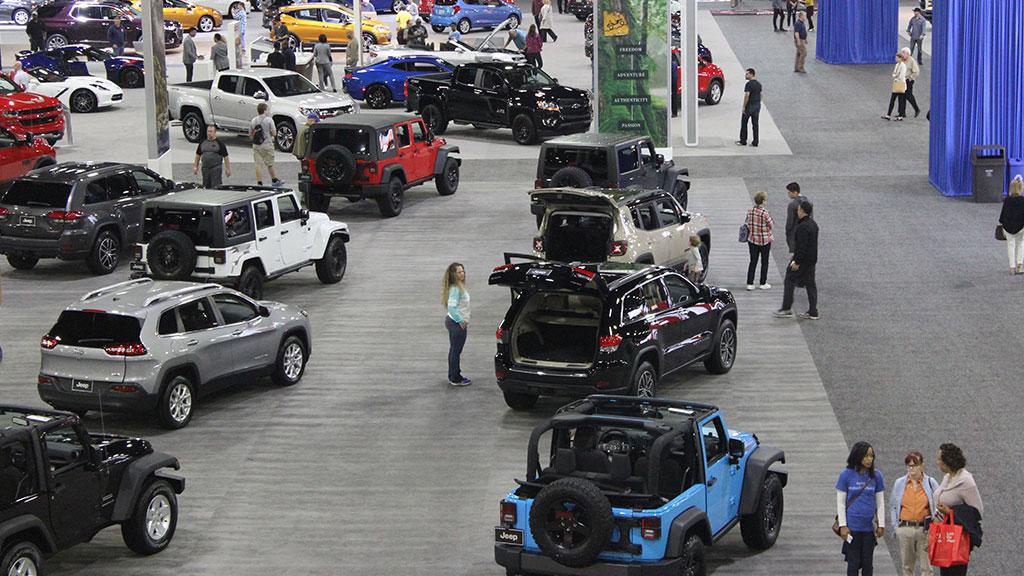 Th Anniversary Atlanta International Auto Show March - Car show world congress center atlanta
