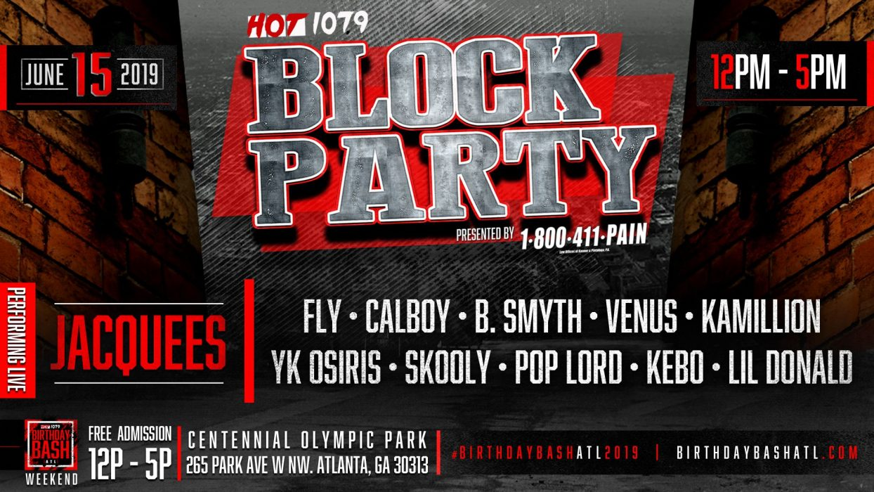 Guess Who's Back? Hot 107 9 Block Party at Centennial